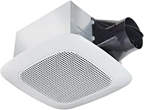 Delta Products Corporation VFB25ADBT Delta BreezSignature Series 110 CFM Fan with Bluetooth Stereo Speaker, 14.2W, 1 Sone