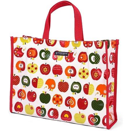 プールバッグ 水泳バッグ おしゃれリンゴのひみつ(アイボリー) N0328100