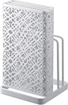 BESTONZON Stainless Steel Knife Block Knife Cutting Board Stand Holder Kitchen Storage Tool