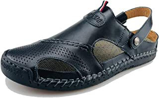 Best black leather sandals for mens Reviews