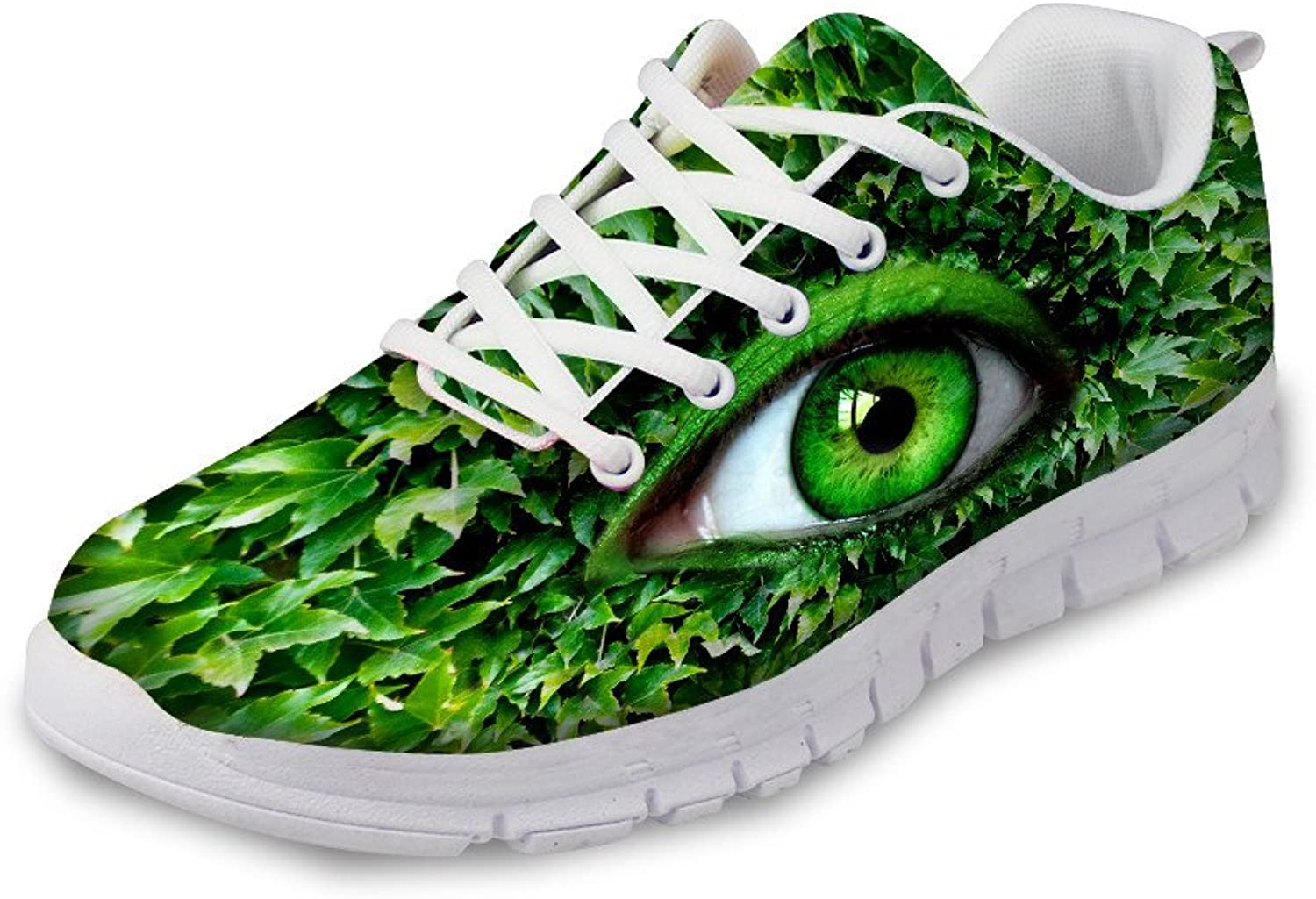 Advocator Fashion Eyes Print Air Running shoes for Men&Women Fitness Walking Sneaker