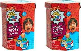 RYAN'S WORLD Series 1 Mystery Putty Play Pal Set of 2