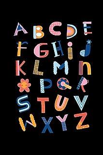 A B C D E F G H I J K L M N O P Q R C T U V W X Y Z , Carnet de note 100 pages: carnet de note Ligné