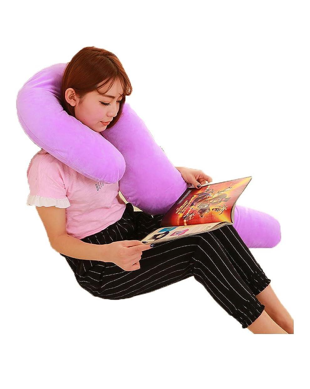 実装する実用的断片授乳クッション 妊婦 マタニティー まくら 中綿 145CM 全9色 出産準備 出産祝い プレゼント 乳児 ボディーピロー 洗える マタニティクッション ロングサイズ マルチクッション 抱き枕 本体と抱き枕カバー付き