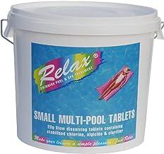 Cascade Pools Productos químicos para piscina o spa – 5 kg de pastillas de cloro pequeñas