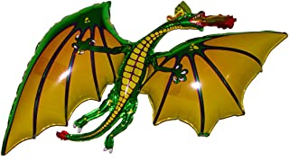 SPACE PET Anti-Gravity Hovering Flying Floating DRAGON Green 36 inch Toy Pet Balloon Party Favor