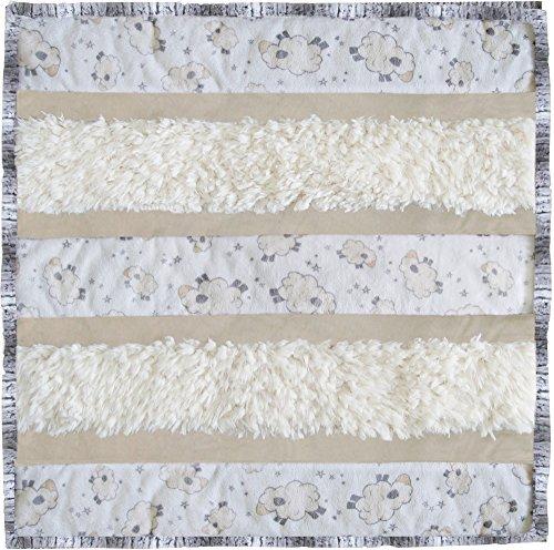 Minky Wee Ones Love Ewe Cuddle Kit Quilt Kit Shannon Fabrics