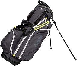 Tour Edge Hot Launch HL4 Golf Stand Carry Bag-Black Lime SIL (UBAHNSB04), One Size