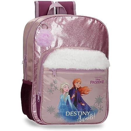 Disney Frozen Destiny Awaits, Mochila Escolar, 38 cm, Morado