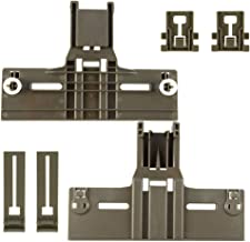 6 Packs UPGRADED W10350376(2) W10195840(2) W10195839(2) Dishwasher Top Rack Parts for..