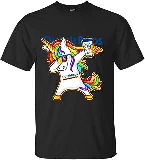 Dabbing Unicorn Loves Dutch Bros. Coffee T Shirt T-Shirt for Men