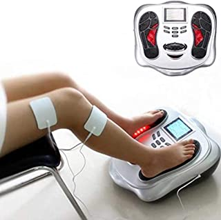 Feet & Body Therapy Massager Machine 25 Massage Modes, 4 Electrodes for The Body, Remote Control, Improves Blood Circulati...