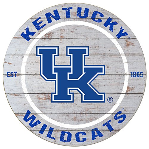 KH Sports Fan 20'x20' Kentucky Wildcats Classic Weathered Circle Sign