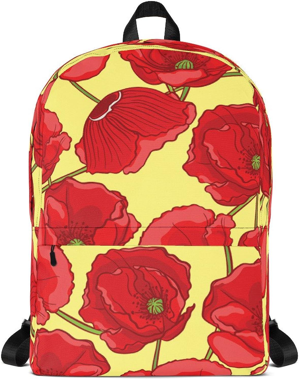 Far West Fashion Yellow Poppy Backpack