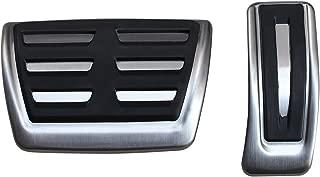AutoBig Gas Pedal Cover Compatible Audi Q5 A4 B8 A5 A6 A7 A8 Porsche Macan Brake Accelerator Pad