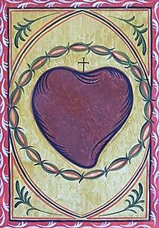 Trinity Stores Religious Art Giclee Print - 7x10 Sacred Heart by A. Olivas
