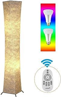 Yenny shop Lampe de sol en tissu naturel Tyvek Originalité Éclairage doux à la maison Minimalisme Créer une atmosphère rom...