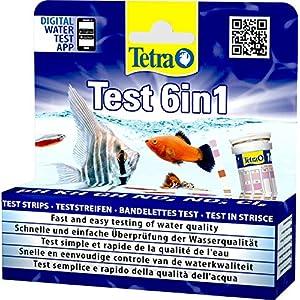 Tetra-Test-6in1-Wassertest-fr-das-Aquarium-schnelle-und-einfache-berprfung-der-Wasserqualitt-1-Dose-25-Stk