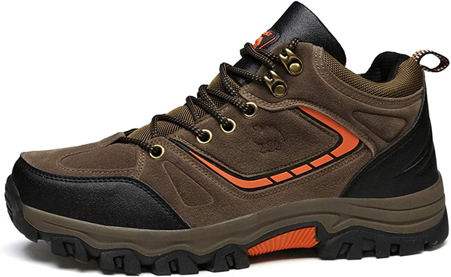 Men's shoes Fall Winter Non Slip Wear-Resistant Outdoor shoes Casual Tourism Hiking shoes Camping shoes,B,41