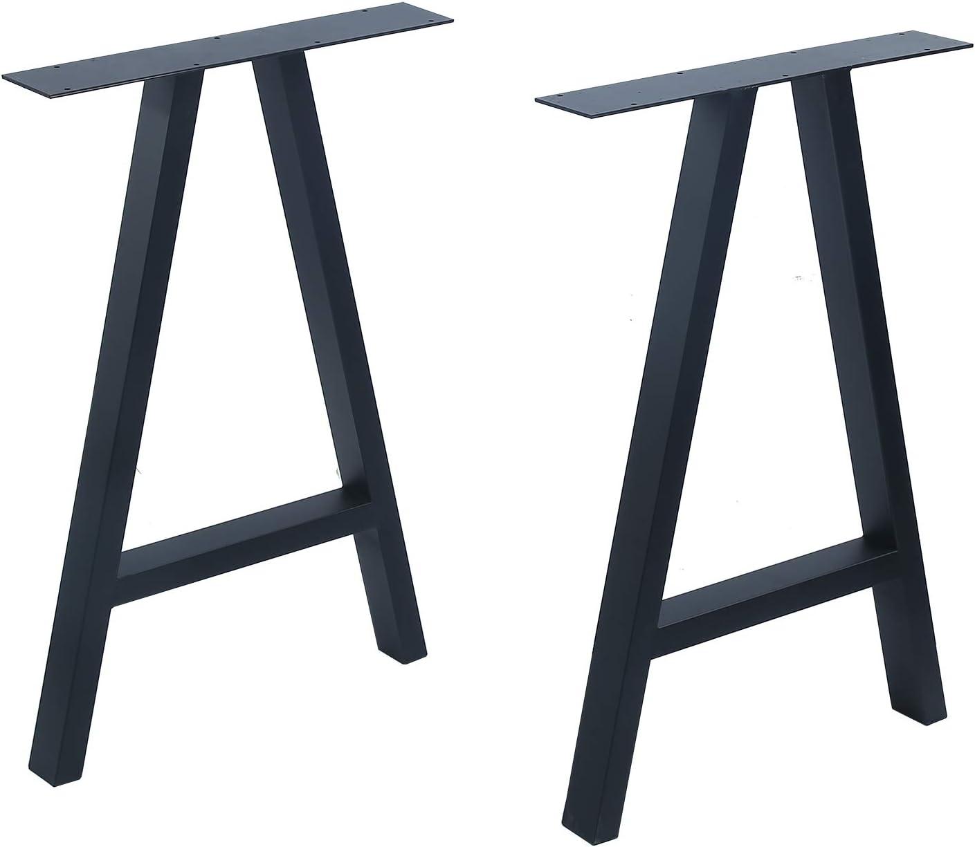 MBQQ 2 Pcs Furniture Legs Rustic Decory A Shape Table Legs,Heavy