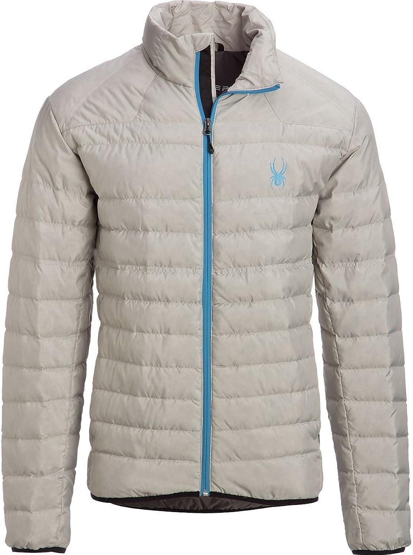 Spyder Men's Down Insulation Hand Warmer Pockets Prymo Down Jacket