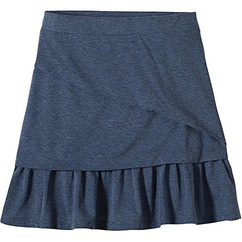 prAna Women's Leah Skirt, Small, Gray Indigo