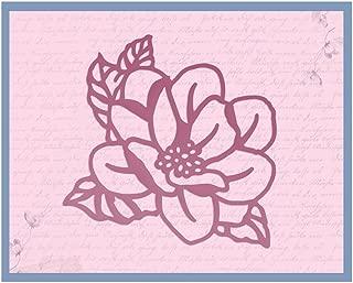 Ultimate Crafts Magnolia Die, Metal, Black