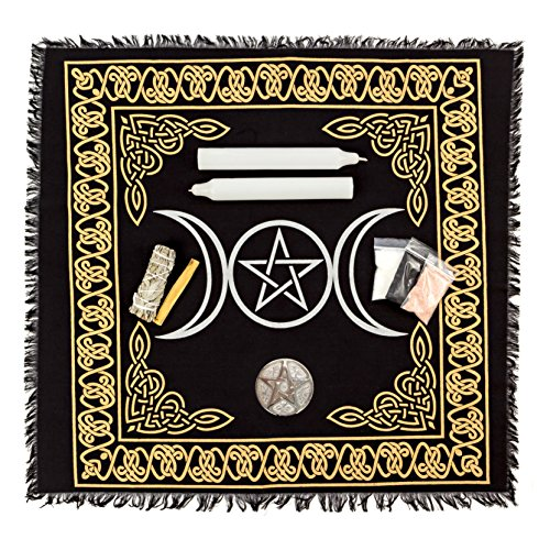 Alternative Imagination Wiccan Altar Supply Kit, (Standard)