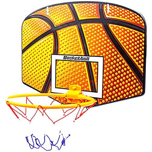 ZZLYY Juego De Aro De Baloncesto para Interiores para Niños, Mini Tablero De Aro De Baloncesto Colgante, Regalos para Niños Pequeños, Juguetes para Niños De 2 A 5 Años