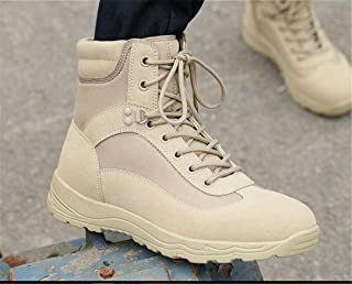 Outdoor Light Weight Hiking Shoes Military Tactical Boots Trekking Shoes Men Botas