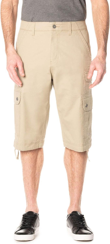 George Clothing ついに再販開始 Men's Below The Messenger Cargo Shorts 直営ストア Knee