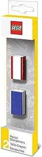 comprar comparacion LEGO - Pack de 2 sacapuntas, Color Azul / Rojo (51496)