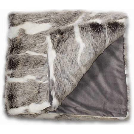 Lit infestés fausse fourrure webpelz Tissu Crème Veste Couverture Tapis deco Nº 9
