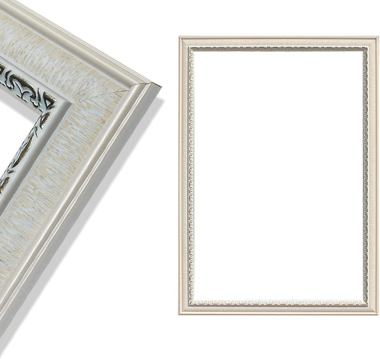 Bathroom Mirror, Rectangle-Shaped Wall Mirror Wall Mounted Wood Grain Design Bathroom Makeup Mirror Toilet Makeup Mirror Bedroom Living Room Hotel-A 40x60cm(16x24inch)