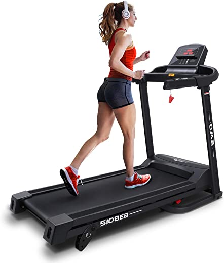 OMA Treadmills for Home 5108EB, Max 2.25 HP Folding Incline Treadmills for Running and Walking Jogging Exercise with 36 Preset Programs, Tracking Pulse, Calories - 2021 Version