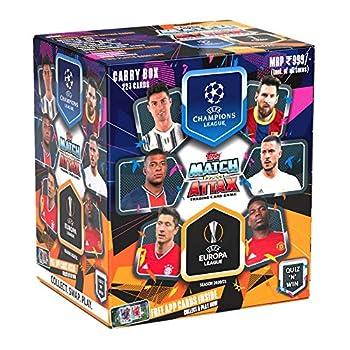 Topps India UEFA Champions League & Europa League TCG 2020/21  Carry Box