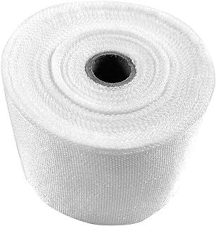 Cinta de fibra de vidrio con aislamiento térmico, 5 cm x 30 m, rollo de fibra de vidrio