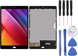 Jiangym Mobile Phone LCD Screen LCD Screen and Digitizer Full Assembly for Asus Zenpad 3S Z500M (Black) LCD Screen (Color : Black)