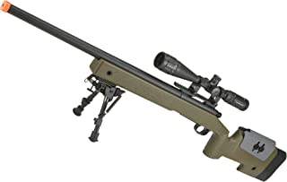 Evike PDI Custom S&T USMC M40A3 Bolt Action Airsoft Sniper Rifle w/PDI Internals - Multiple Options Available