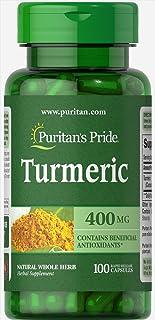 Puritan's Pride Turmeric 400 Mg 100 Capsules