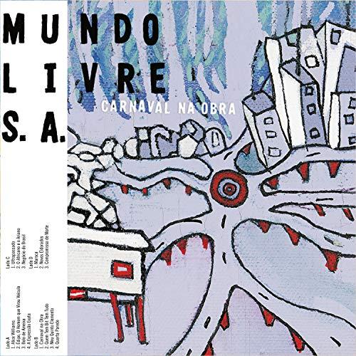 Mundo Livre S/A, LP Duplo Carnaval Na Obra- Série Clássicos Em Vinil [Disco de Vinil]