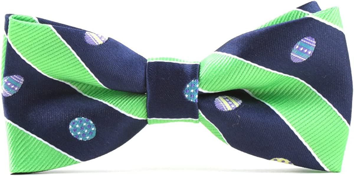 TAGERWILEN Boy's Handmade Pre-Tied Patterned Bow Ties