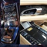 Pegatina de automóvil Película autoadhesiva de vinilo de fibra de carbono DIY, adaptada a la apariencia y el interior de las motocicletas, las computadoras Autoadhesivo (Size : 7CM 3D)