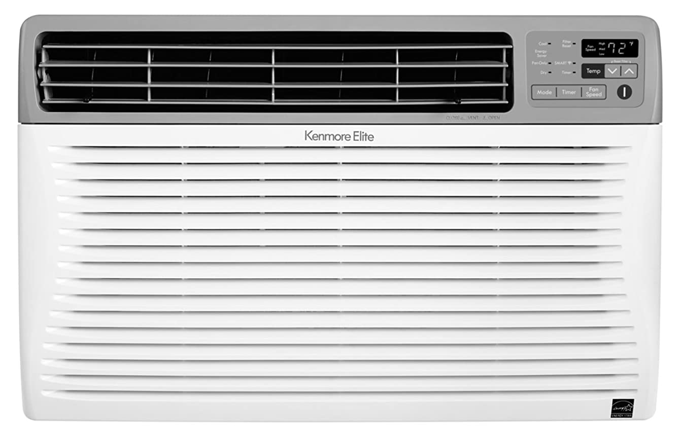 Kenmore Smart 04277107 Room Air Conditioner Works with Amazon Alexa, 10,000 BTU, White