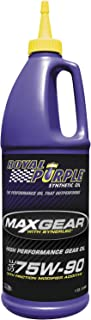 Royal Purple 01300 Max-Gear Synthetic Gear Lube Oil 75W90 Pack of 6 Quarts