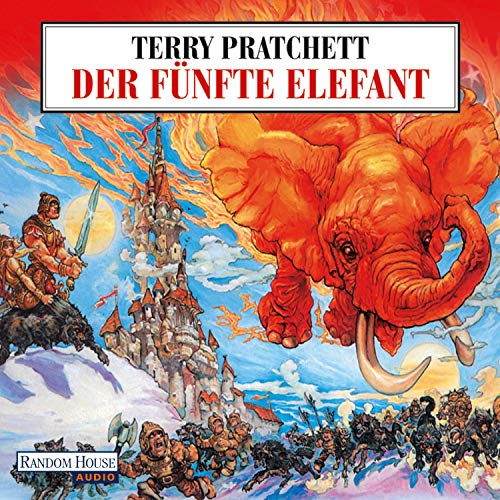 Der fünfte Elefant audiobook cover art