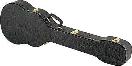 Musician's Gear Electric Bass Case Violin Shaped Black