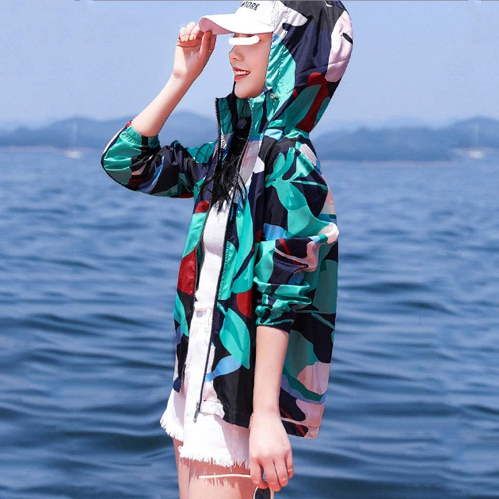 Free shipping on posting reviews ZLDGYG ZMMDD Camouflage Sunscreen Clothing Cy Women's Chicago Mall Summer end