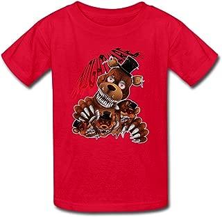 Kid's Vintage Five Nights At Freddys T-shirts By Mjensen