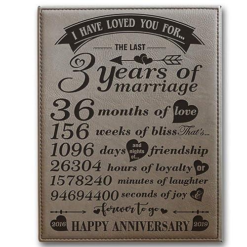 3 Wedding Anniversary Gift: 3 Year Anniversary Gifts For Her: Amazon.com